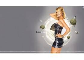 人,海蒂克鲁姆,侧面图,紧身衣,连衣裙,美女,模特51663