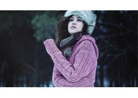 人,美女,有趣的帽子,户外的女人,模特45791