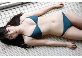 人,美女,比基尼泳装,亚洲,躺着,看着观众16463
