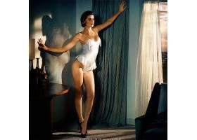 人,短剑,白色女用贴身内衣裤,美女,黑发,短发,窗帘,模特,白色内裤