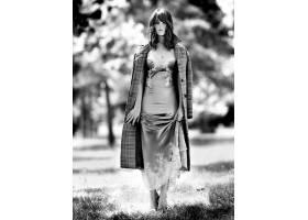 人,美女,杰玛阿特登,连衣裙,单色,户外的女人,演员,常设626