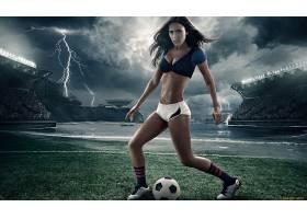 人,摄影,风暴,美女,足球,数字艺术,模特,球3627
