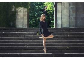 人,美女,楼梯,芭蕾舞演员,户外的女人29575