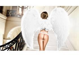 人,屁股,翅膀,模特,美女,楼梯45739