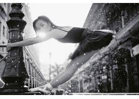 人,美女,模特,亚洲,芭蕾舞演员,看着观众6233