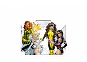 漫画壁纸,x战警,女子名,严寒,心理战,流氓,凤凰,壁纸