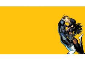 漫画壁纸,x战警,独眼巨人,X-23,壁纸