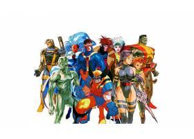 漫画壁纸,x战警,金刚狼,心理战,巨人,流氓,独眼巨人,壁纸