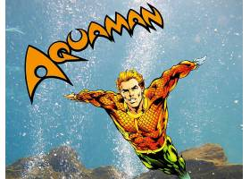 漫画壁纸,Aquaman,壁纸(12)