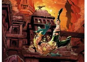 漫画壁纸,Aquaman,壁纸(17)
