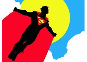 漫画壁纸,儿子,关于,超人,超人,超级小子,壁纸