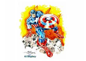 漫画壁纸,船长,美国,壁纸(12)