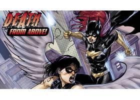 漫画壁纸,蝙蝠女侠,壁纸(17)