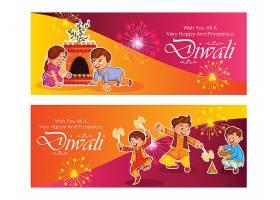 卡通孩子背景泰国节日素材