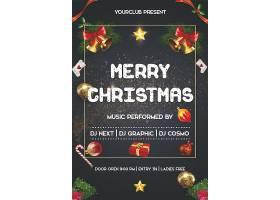 圣诞节平安夜背景模板