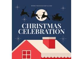 卡通圣诞节海报图片