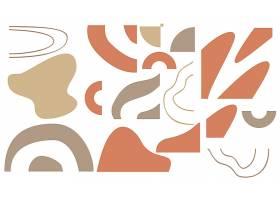 抽象元素创意个性海报模板