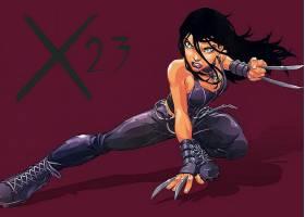 漫画壁纸,X-23,壁纸(8)