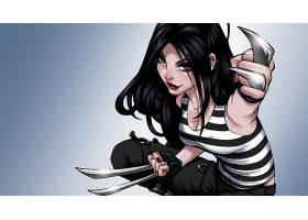 漫画壁纸,X-23,壁纸(9)