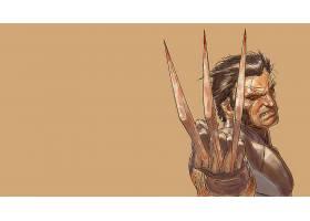 漫画壁纸,金刚狼,x战警,壁纸(50)