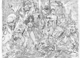 漫画壁纸,哥伦比亚特区,宇宙,奇迹,妇女,超人,绿色的,灯笼,勤务兵