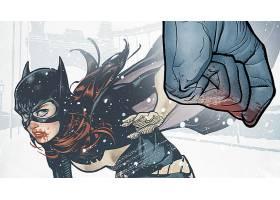 漫画壁纸,蝙蝠女侠,壁纸(11)