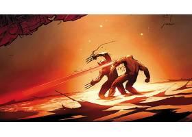 漫画壁纸,x战警,金刚狼,独眼巨人,壁纸(1)