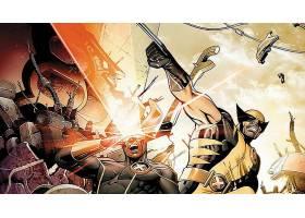 漫画壁纸,x战警,金刚狼,独眼巨人,壁纸(3)