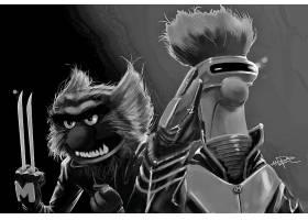 漫画壁纸,x战警,金刚狼,独眼巨人,壁纸(4)