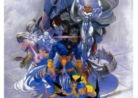 漫画壁纸,x战警,金刚狼,独眼巨人,壁纸(5)