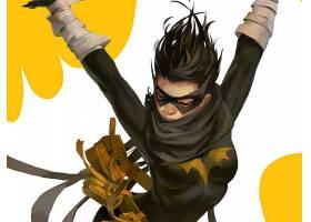 漫画壁纸,蝙蝠女侠,壁纸(49)图片