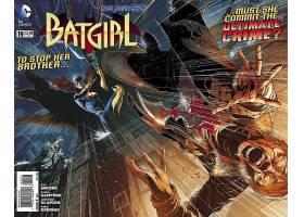 漫画壁纸,蝙蝠女侠,壁纸(51)图片