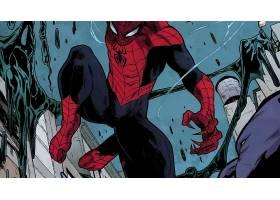 漫画壁纸,蜘蛛侠,超级英雄,壁纸