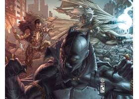 漫画壁纸,奇迹,漫画壁纸,黑色,美洲豹,Kraven,这,猎人,暴风雨,壁