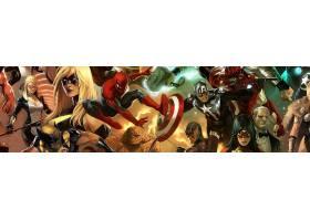 漫画壁纸,这,复仇者联盟,蜘蛛侠,船长,美国,东西,金刚狼,壁纸