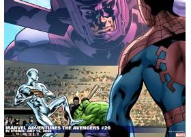 漫画壁纸,这,复仇者联盟,赫然显现,蜘蛛侠,壁纸