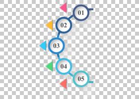 信息图表圆圈图标,圈子和三角形图表PPT,01,05文本PNG剪贴画蓝色,