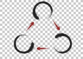 墨水圈PNG剪贴画中式,圆形框架,圆形标志,墨水飞溅,封装的PostScr
