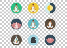 瑜伽图标,放松PNG剪贴画杂项,徽标,封装的PostScript,adobeIllust图片
