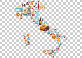 意大利地图,意大利PNG剪贴画文本,摄影,矢量图标,royaltyfree,矢