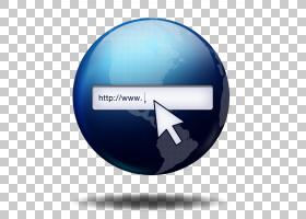 搜索框路由器网络搜索引擎Wi-Fi图标,网页搜索栏PNG剪贴画蓝色,搜