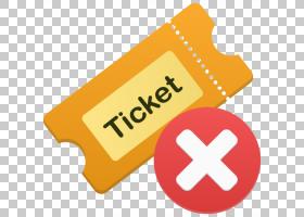 区域文字品牌黄色,票证删除PNG剪贴画文本,徽标,业务,区域,票证,