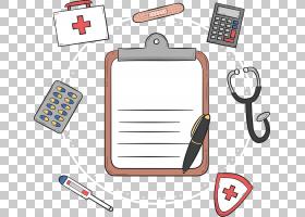 图标,手绘签名医学书PNG剪贴画手,急救,封装PostScript,医院,书矢