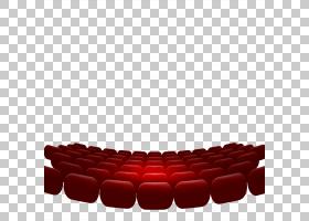 图标,红色剧院座位PNG剪贴画矩形,生日快乐矢量图像,封装的PostSc