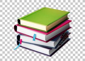 书讨论俱乐部平装书,书堆,四种各色书籍PNG剪贴画矩形,阅读,材料,