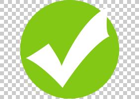 复选标记复选框计算机图标度假村,绿色勾选图标,检查PNG剪贴画杂,