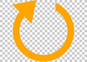 重置图标,重新启动透明PNG剪贴画角度,文本,橙色,互联网,重置按钮