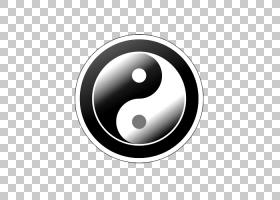 阴阳按钮图标,阴阳鱼图标按钮PNG剪贴画免费徽标设计模板,相机图