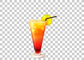 龙舌兰酒日出鸡尾酒玻璃杯,饮料杯创意消光PNG剪贴画玻璃,免费Log