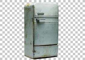 冰箱厨房家用电器家用电器,旧冰箱PNG剪贴画电子,家具,抽屉,摄影,